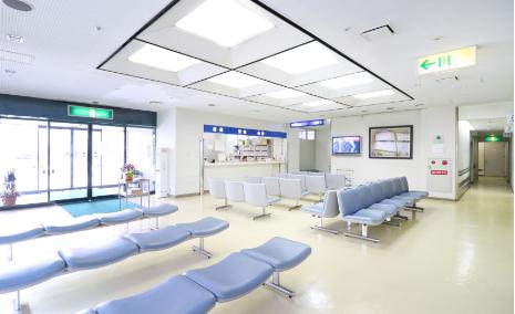 丸山病院待合室